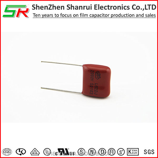 CBB81 // General use high voltage capacitor 2000v 822j DC capacitor high frequency filter circuit