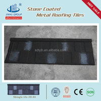 High quality stone coated metal roofing tile manufacture