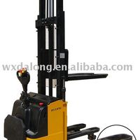 1500kg Capacity Electric Stacker With Double