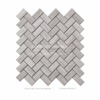 wood light grain herringbone mosaic tile for wall and floor irregular tile