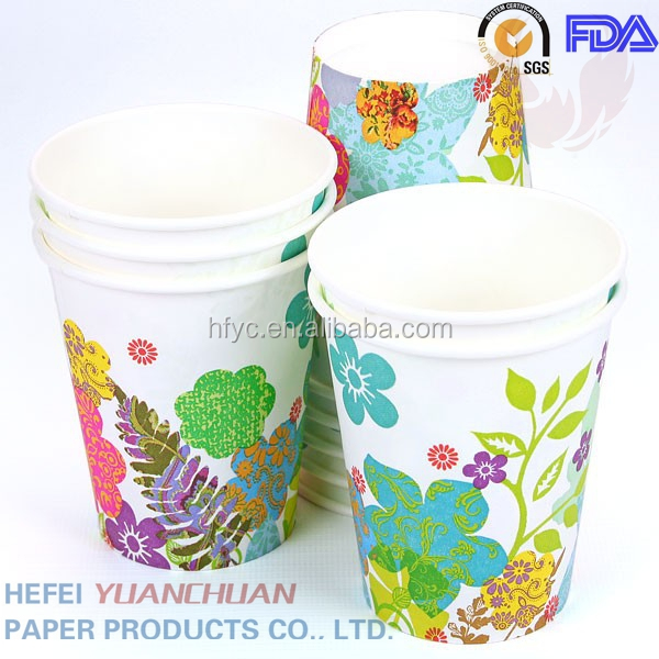 7oz paper cup for coffee and tea made in China