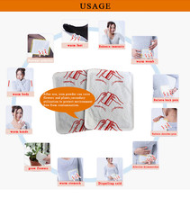 chinese warming herbal pad,herbal body heat packs,keep feet warm