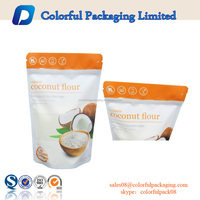 Hot sell packaging bag paper plastic bags for food custom zip lock bags