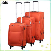 Fashion travel luggage laptop trolley bag with universal wheels for ladies laptop trolley bag