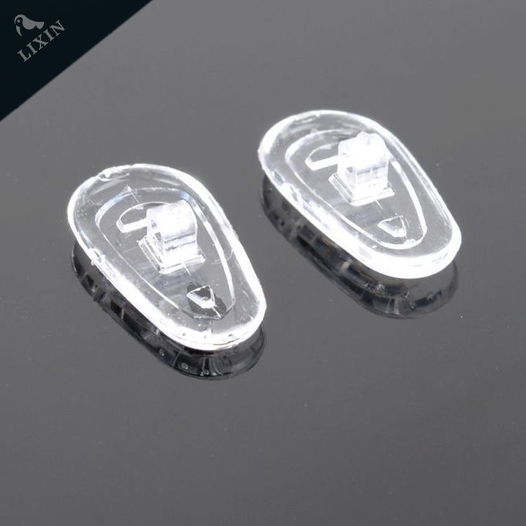 silicon nose pad, attrack people's eyes!Spectacle spare parts and accessories