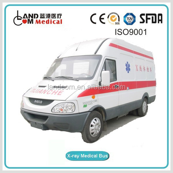 X RAY medical vehicle with IVECO chassis