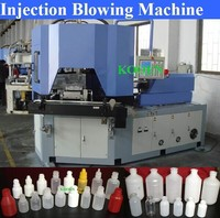 small pe hdpe bottle injection blow molding machine