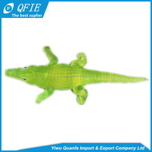 Fashion soft funny squishy sticky TPR crocodile toy for kids