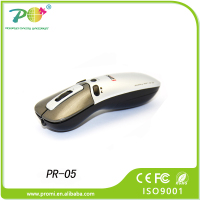 2.4 G wireless slide changer laser pointer beam mouse remote control for powerpoint presenter