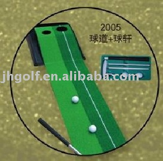 golf training equipment with putter