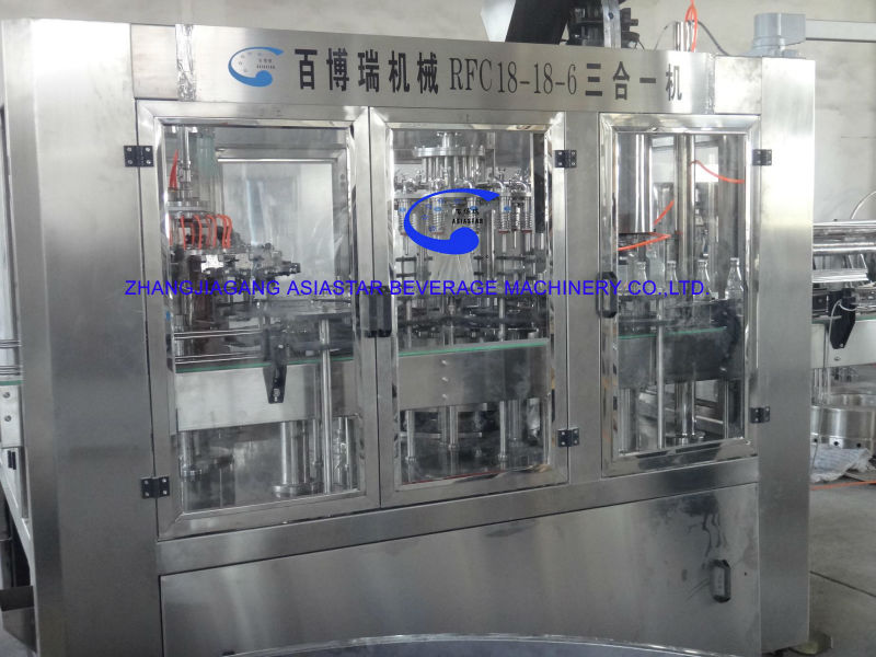 Automatic apple juice processing plant