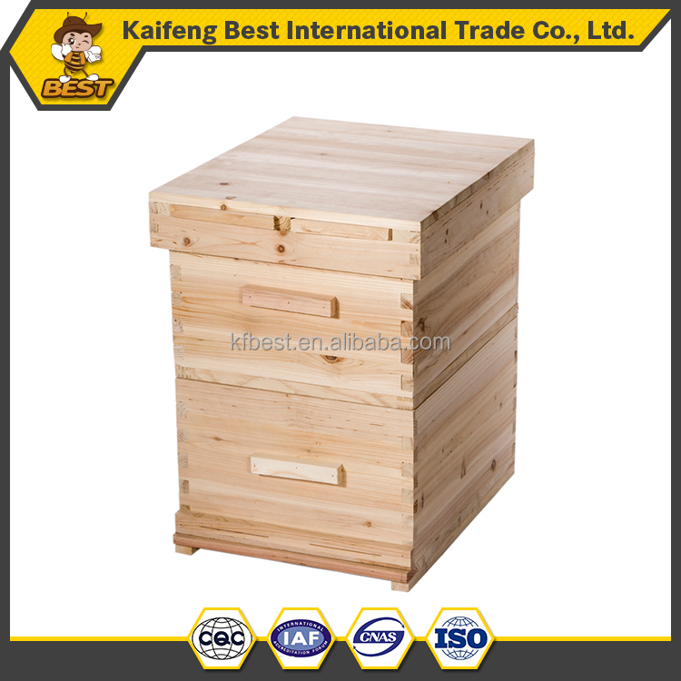 Beekeeping Langstroth Beehive Bee hive Two Layer Hive with Full Hive Frame