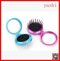 YASHI Different color detachable round hair brush for tangle hair