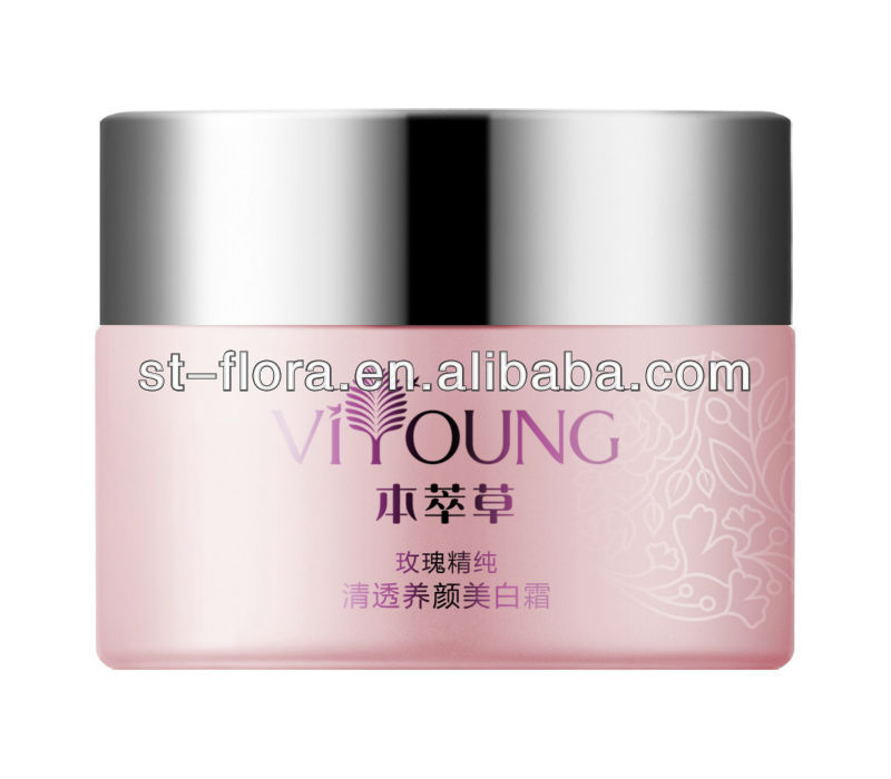 Rose clear whiting refreshing face cream