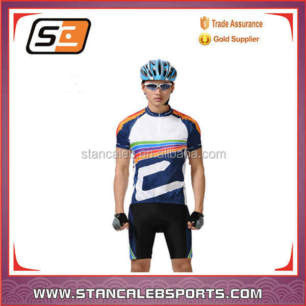 Stan Caleb Mens Full Sublimation Custom Dry Fit Cycling Jersey or mountain bike wear or cycling wear specialized