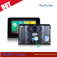 Cheap 7 inch GPS Navigation Car DVR Camera Android 4.4 WIFI FM Radio AV-In Optional With Anti Radar Detector GPS