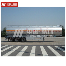 High capacity 3 axles Aluminum Alloy tanker truck trailer for export