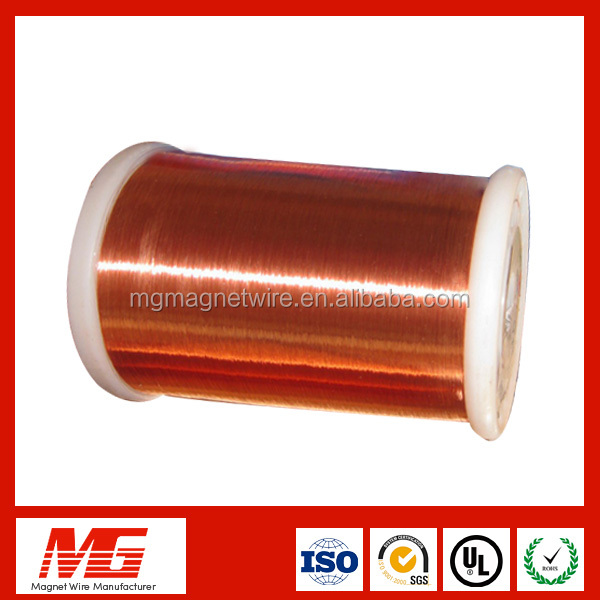 soliderable 52 awg enameled copper wire For Winding