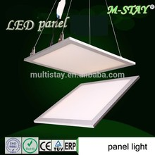Factory sale 18w round panel light with 3 years warranty led luminous fiber optics fabric