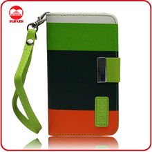 2013 New Hybird With Credit Card Holder Smart Wallet Case for Samsung Galaxy S2 I9100