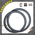 650C carbon road byicycle 50mm tubular rims road bike wheel U shape 23mm wdith 50mm tubular rims