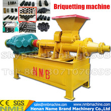 Strongth quality straw wood screw charcoal sawdust biomass extruder coal briquetting machine