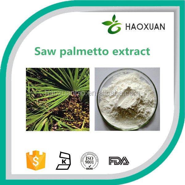 Factory price top quality Saw palmetto berry extract