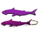 Promotional Gifts Printed Logo Purple Can Shark Shape Opener For Beer Bottle