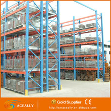Industrial Adjustable Blue And Orange Pallet Racking