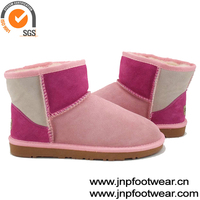 Warm snow suede womens boots ladies