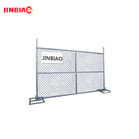 Best Selling Products Chain Link Wire Mesh Fence / Portable Temporary Wire Mesh Fence