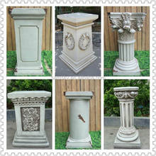 Wholesale Fiberglass wedding decoration pillars