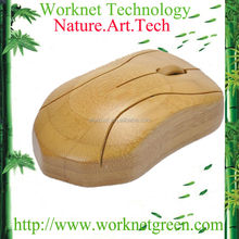 wholesale cheap price promotion bamboo wireless mouse WK100-N