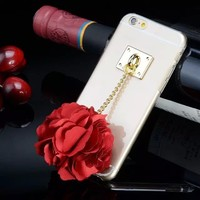 alibaba express fashion mobile accessories ,tpu mobile case,flower case for iphone5/6/6plus