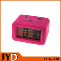 JYD- DAC06S New Cheap Silicone LED Desktop Alarm Clock, Can Be Customized For Promotional Gifts, easy to read