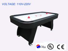 Perfect Design Black Tabletop Ice Air Hockey Game Table 110~220V Voltage,CE Hockey Table Including puck,cake,manual scorer