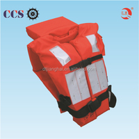 orange color reflective life jacket/safety vest