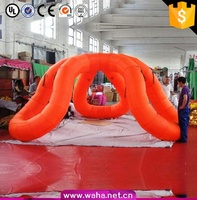 giant large Led party event bubble camping air dome price camp inflatable tent for sale