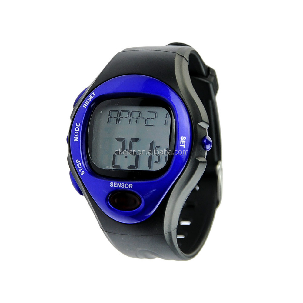 2015 Hot Sale body fit heart rate monitor watch with heart rate monitor, heart rate timer watch