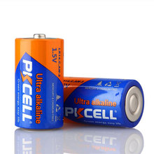 PKCELL C Size 1.5V Alkaline Battery LR14 Dry Cell Battery 990min AM2 For Gas Cooker