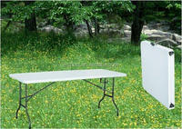 6ft cheap outdoor plastic table and chairs banquet table