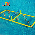 PVC inflatable volleyball court
