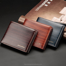 New design purse leather men short <strong>wallet</strong>