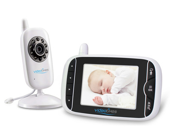 "3.2"" LCD Digital Wireless Video Baby Monitor Model HB32"