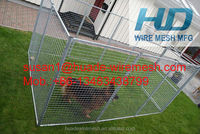 Hot dipped galvanized 1.8x2.0m Dog Kennel