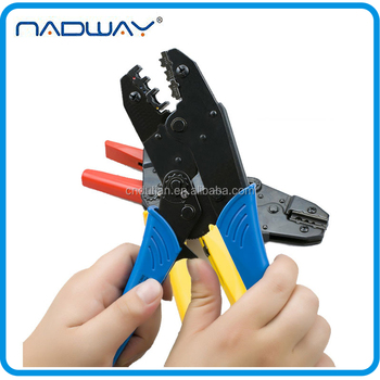 "9"" EUROPEAN STYLE Insulated terminals RATCHET crimping tool set"