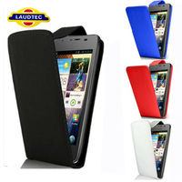 2013 Hot Selling 100% Fit Flip Cover for HUAWEI Y300 Leather Case for HUAWEI Ascend Y300 Laudtec