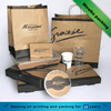Eco friendly custom paper take out hot warm food containers