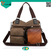large capcity leisure new design vintage fashion shoulder bags made by handmade crazy horse leather