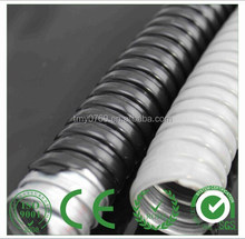 "PVC Coated GI Black 1/2"" Flexible Conduit"
